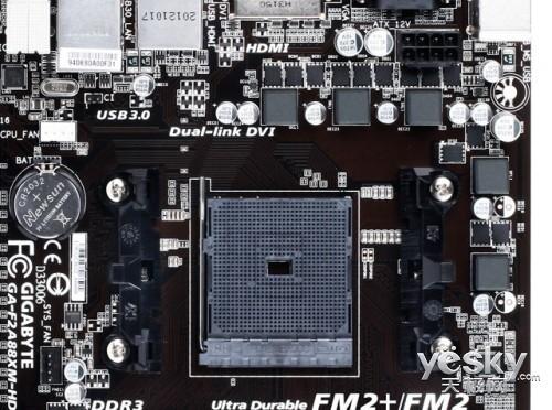 高性价比APU主板 技嘉F2A85XM-HD3售价749元