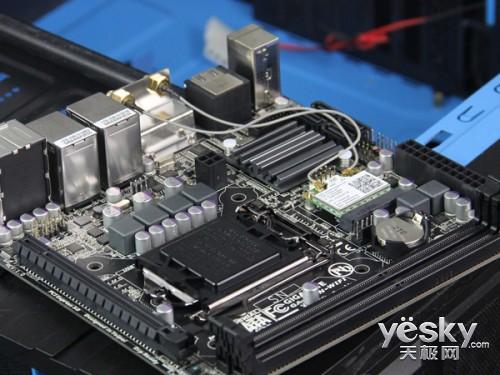 高实用性ITX小板 技嘉H87N-WIFI售价999元
