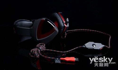 血手幽灵G501控音辨位游戏耳机全球首测