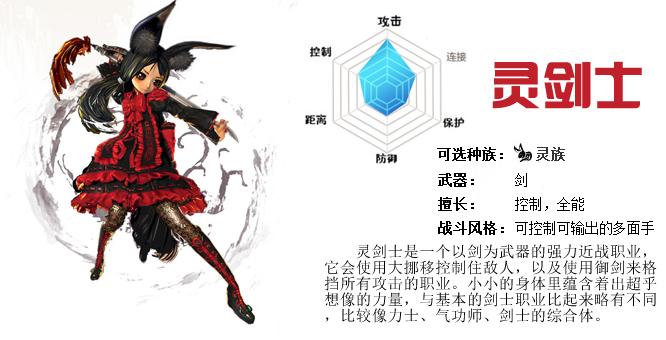 新增职业:灵剑士