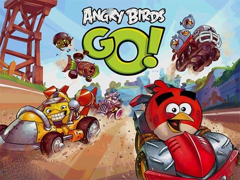 Angry Birds Go!(愤怒的小鸟赛车卡丁车游戏)截图1