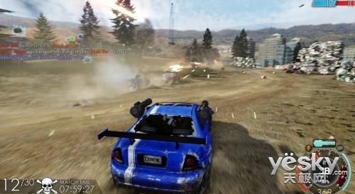 横冲直撞 《燃油机车极限版》游戏键盘推荐