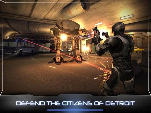 每日推荐 iPad游戏下载 机械战警