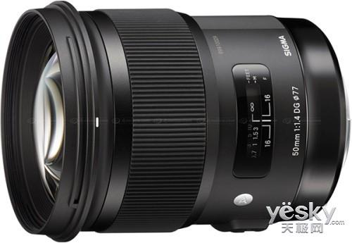 CES2014:适马推出50mm f/1.4 DG HSM镜头