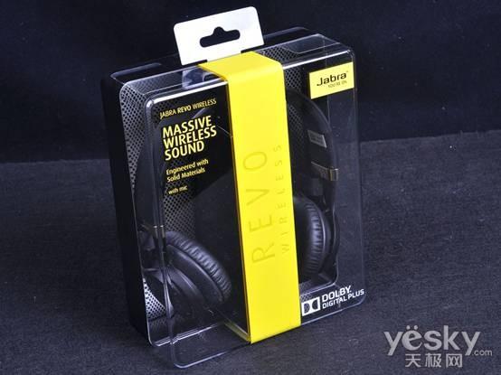 捷波朗revo wireless蓝牙耳机外包装盒图片