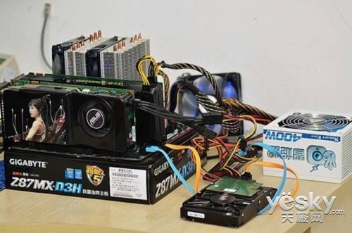 双显卡+超频折磨 金河田智能眼400W终极表现