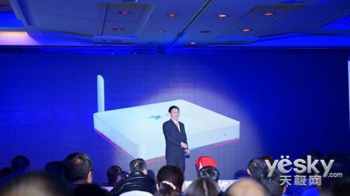 CCBN2014国内首款4K广电盒子同洲飞看2发布