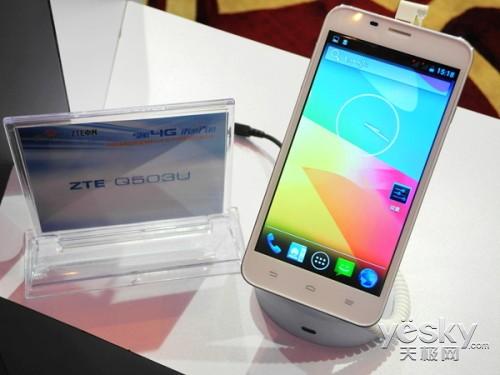 中兴发布联通千元4G智能手机及多款数据终端