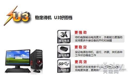 U3电源新势力  先马刺客530推介