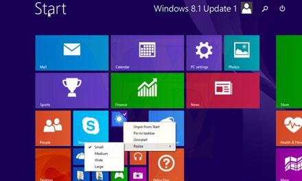Win8.1 Update系统更新正式发布