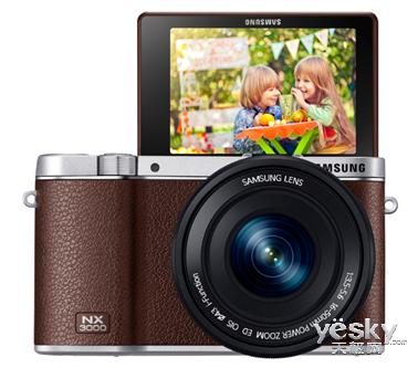 三星发布智能相机NX3000 复古卓越轻松互联