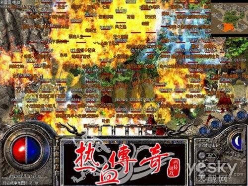 白金区火爆 《热血传奇》百区有望版本升级
