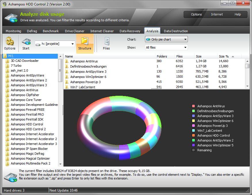 Ashampoo HDD Control截图3