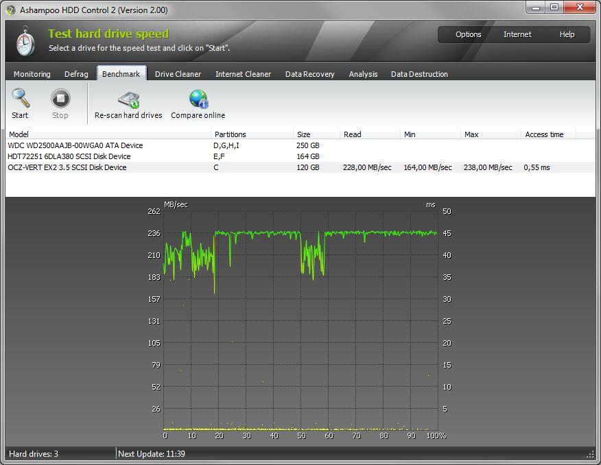 Ashampoo HDD Control截图2