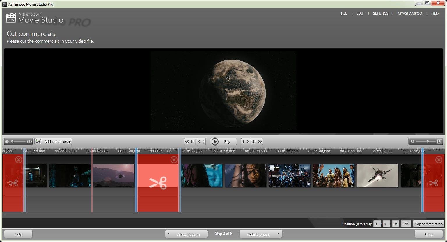 Ashampoo Movie Studio Pro截图3