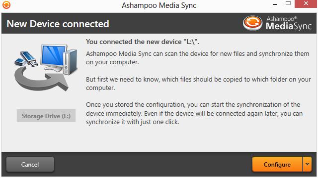 Ashampoo Media Sync截图1