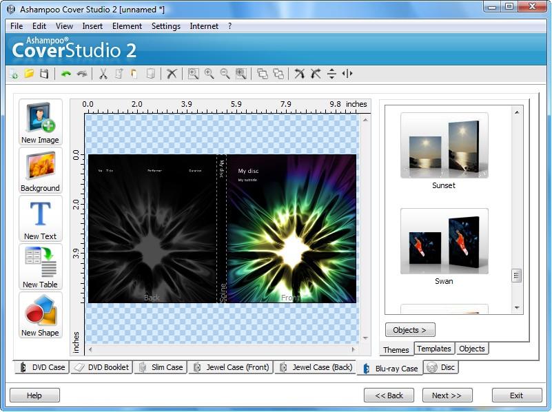 Ashampoo Cover Studio 2截图4