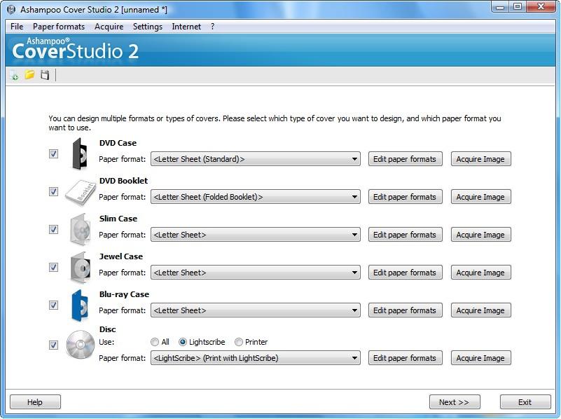 Ashampoo Cover Studio 2截图1