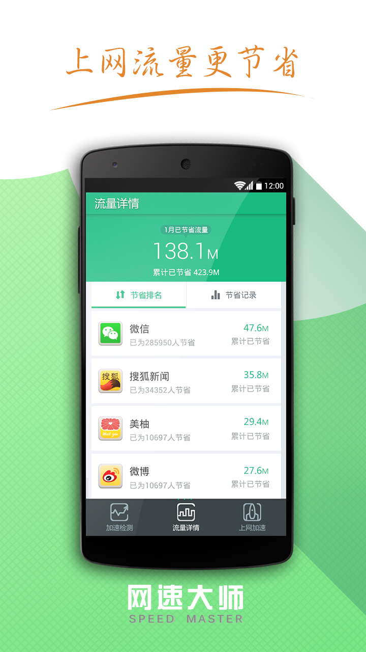 网速大师Android版截图3