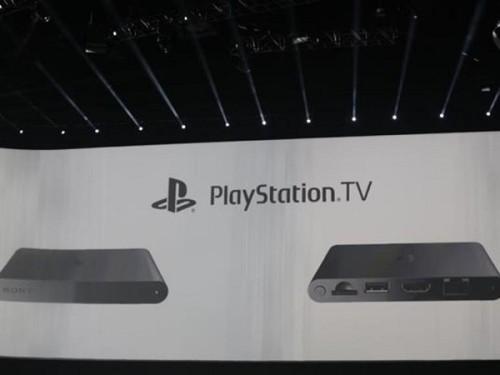 客厅游戏革命 索尼发布PlayStation TV盒子