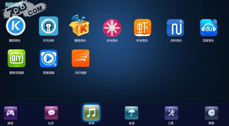RUI電視桌面截图1