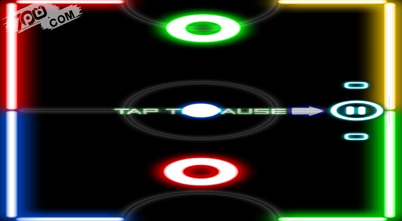 Glow Hockey 2截图2