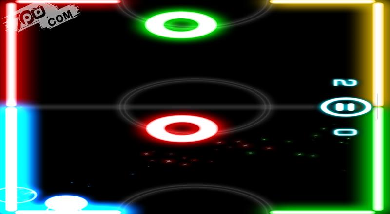 Glow Hockey 2截图1