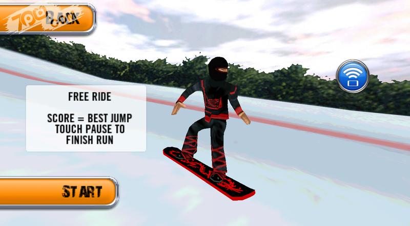 Crazy Snowboard Pro截图1