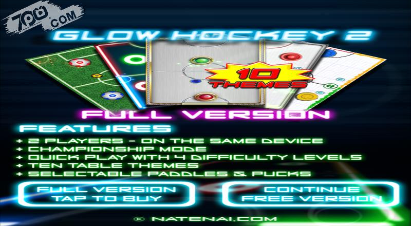 Glow Hockey 2截图3