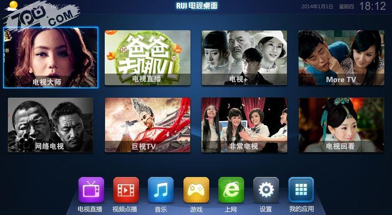 RUI電視桌面截图3