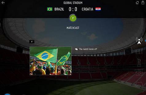 足球世界杯 移动互联网的狂欢盛宴