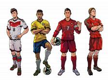 自由足球世界杯桑巴足球场