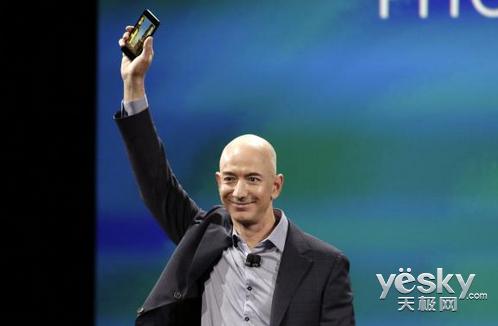 亚马逊发布Fire Phone 现动态视角3D技术