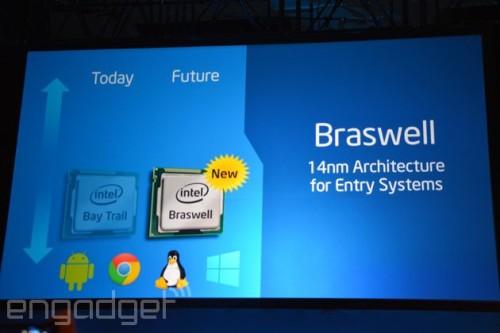 英特尔14nm低功耗处理器推迟 明年Q2见面