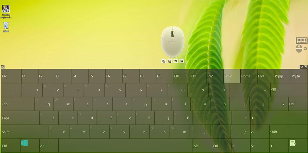 Chooing屏幕键盘鼠标软件截图2