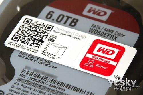 单碟1.2TB 西部数据6TB红盘评测