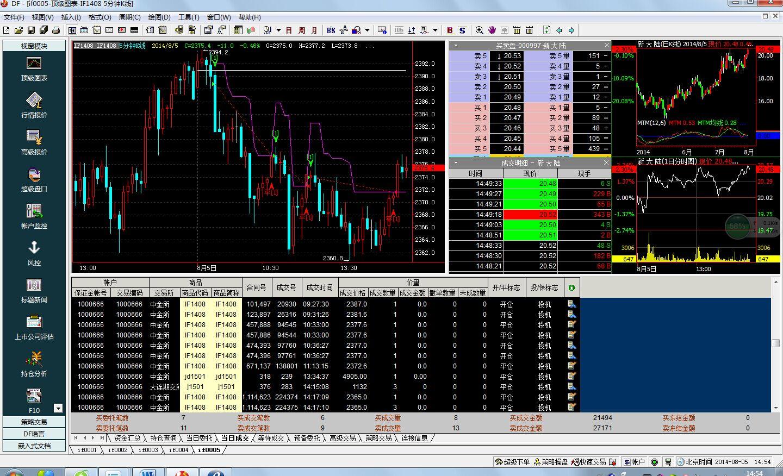 DF登峰程序化交易系统截图2