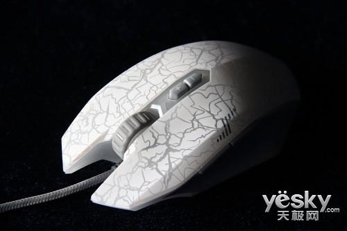 小苍代言 达尔优MINI版游戏鼠标评测