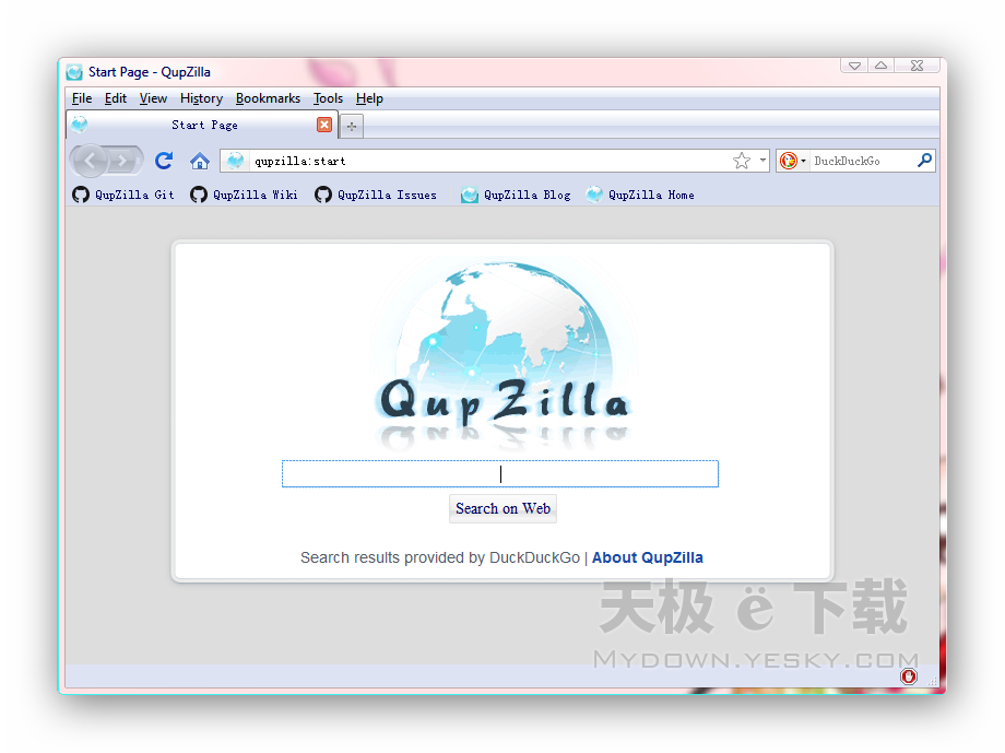 QupZilla截图2