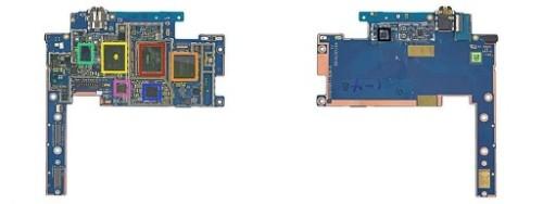 难维修的Nexus 9平板:三星闪存、美光内存