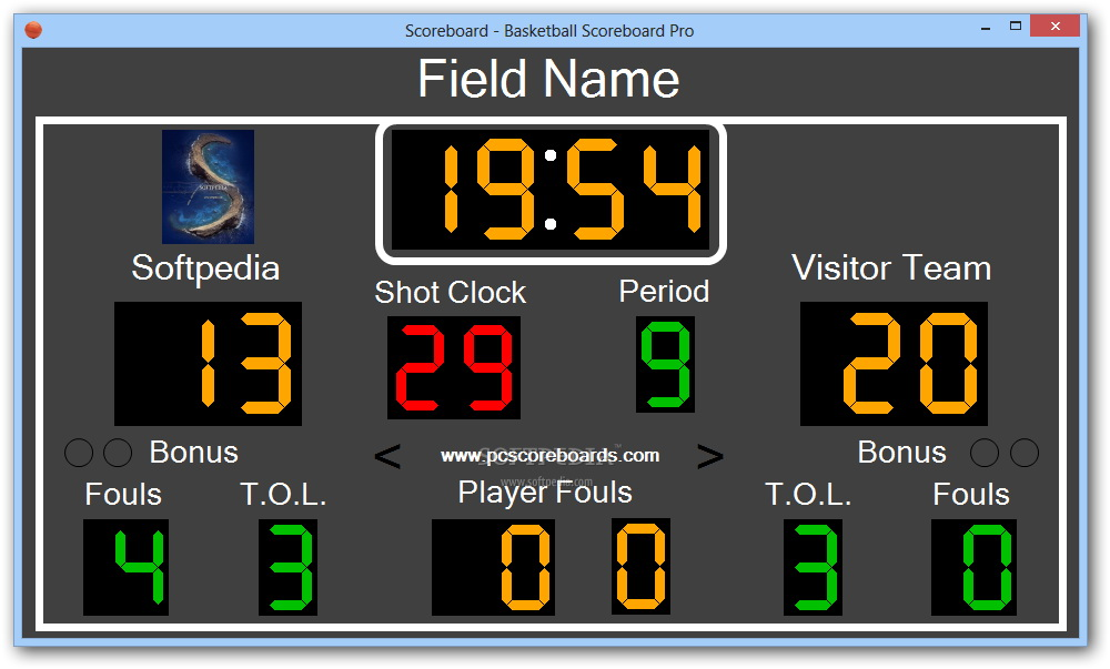 Basketball Scoreboard Pro截图1