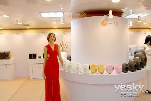 HiVi惠威六大系列全面亮相广州音响展