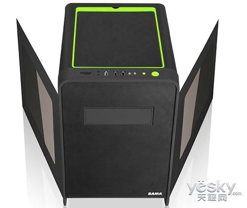 强势新品来袭 先马碳立方游戏机箱售239元