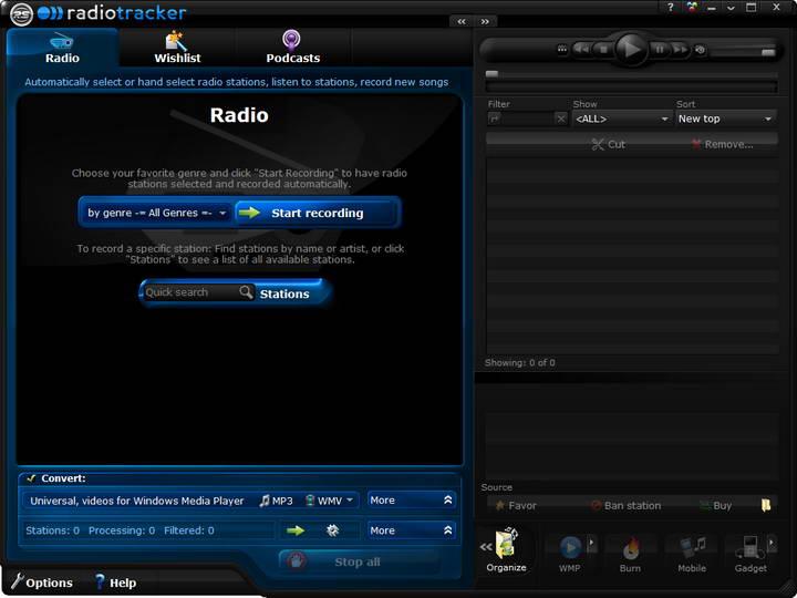Audials Radiotracker截图1
