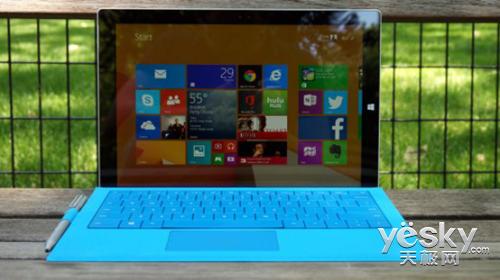王者的较量 Surface Pro 3与iPad Air对比