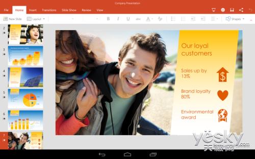 微软终于宣布开放安卓平板Office套件下载
