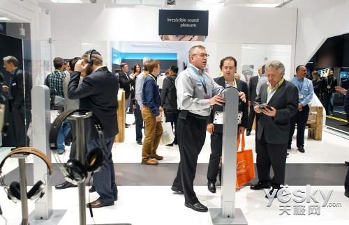 CES 2015:Sennheiser展示全新无线耳机产品