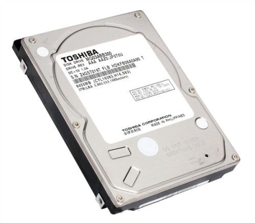 芝发布全球首款2.5寸规格的3TB硬盘