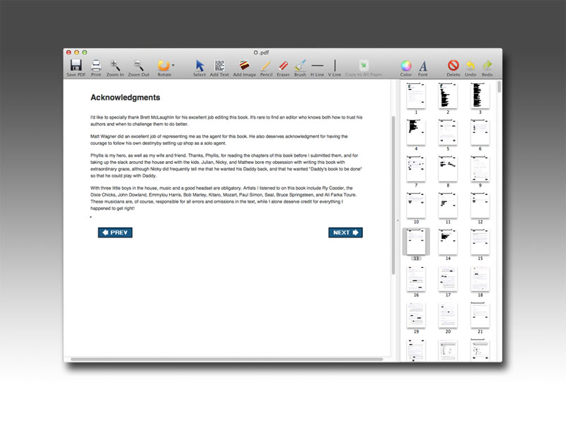 PDF Editor Mac截图1