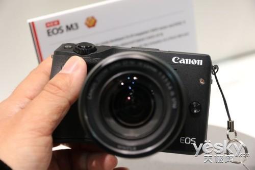 CP+2015佳能展台新品点评EOS M篇